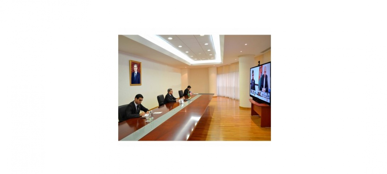 Трехсторонняя встреча руководителей внешнеполитических  ведомств Туркменистана, Афганистана и США
