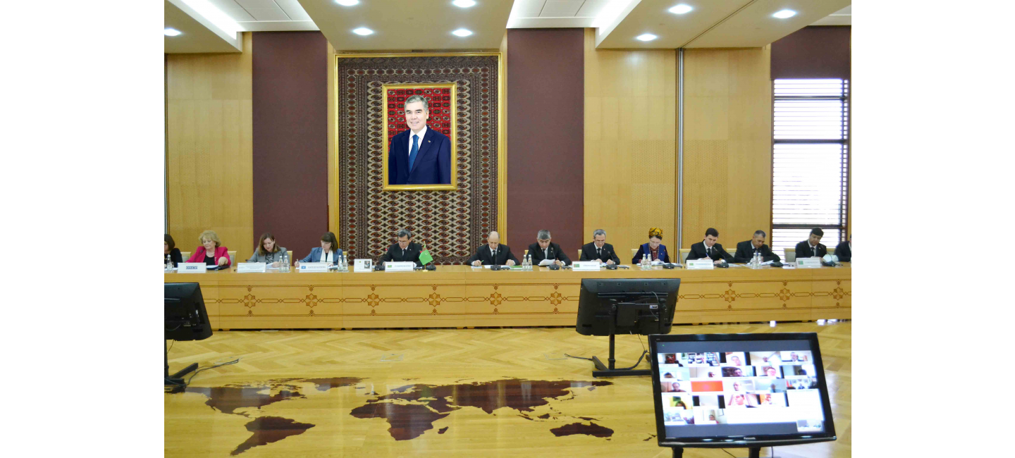 BRIEFING ON THE IMPLEMENTATION OF TURKMENISTAN'S INTERNATIONAL INITIATIVES IN THE FIELD OF HEALTHCARE WAS HELD AT THE MINISTRY OF FOREIGN AFFAIRS
